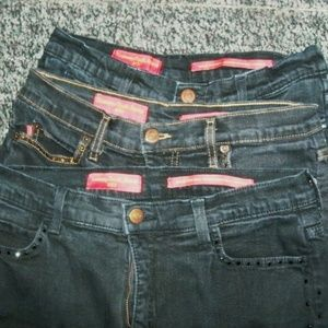 Not Your Daughters Jeans Tummy Tuck 3 Pairs Sz 4-6